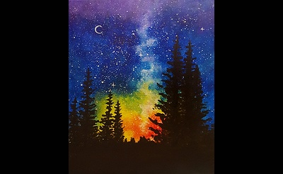Paint Nite: A Night At Rainbow Pines