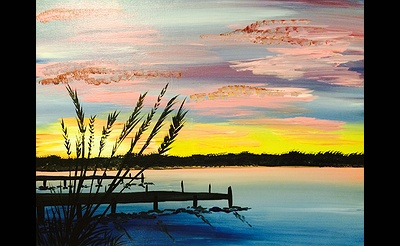 Paint Nite: Sunset By The Dock