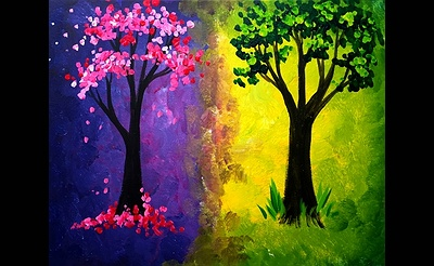 Paint Nite: Spring and Summer