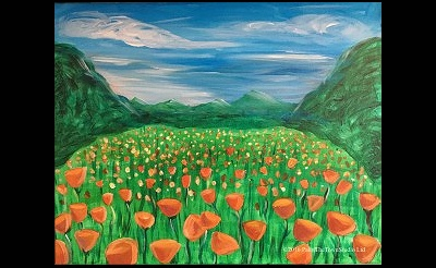 Paint The Town: Poppy Fields
