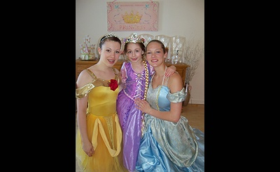 Princess Tea Party in March