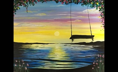 Paint Nite: Swing Into Spring