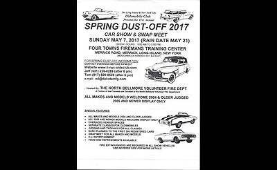 LI & NYC Oldsmobile 41st Annual Spring Dust-Off Car Show and Swap Meet