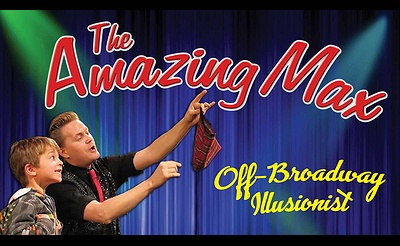 The Amazing Max - Off-Broadway Illusionist
