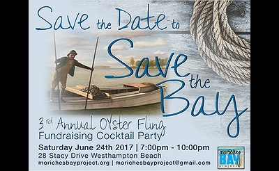3rd Annual Save The Bay Oyster Fling