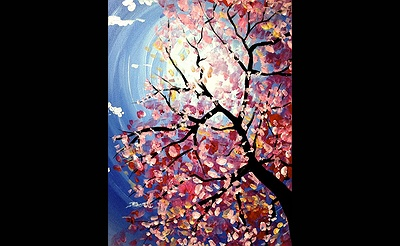Paint Nite: Spring Blossoms