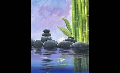 Paint Nite: Tranquility V