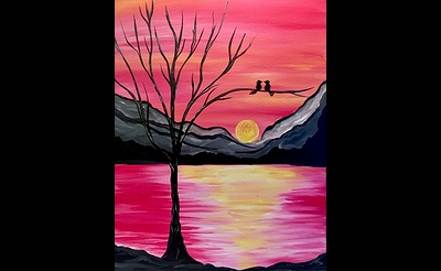 Paint Nite: Rise and Shine My Love