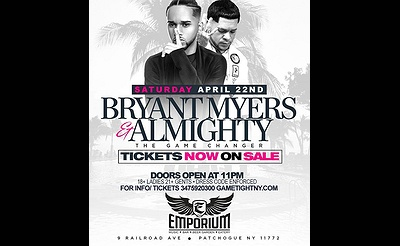 Bryant Myers & Almighty at The Emporium