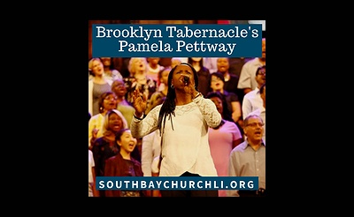 Pamela Pettway of the Brooklyn Tabernacle Choir Singing at South Bay Bible Church