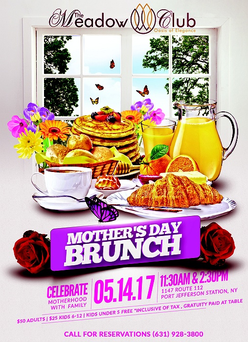 Treat mom to a Mother's Day brunch she will always cherish at beautiful Watermill Caterers located in the scenic Long Island Gold Coast. With a luxurious atmosphere featuring an elegant dining room and perfectly manicured grounds, mom is sure to be impressed with such a sophisticated setting.