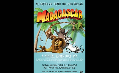 Madagascar - A Musical Adventure TYA
