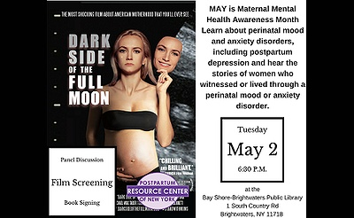 Dark Side of the Full Moon-- Film Screening & Panel Discussion