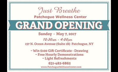 Patchogue Wellness Center - Grand Opening Celebration