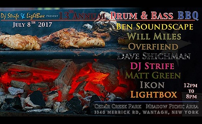 13th Annual Drum and Bass BBQ