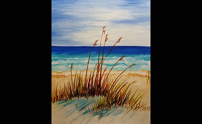 Paint Nite: Peaceful Beach Afternoon
