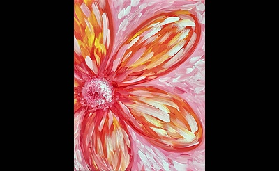 Paint Nite: One Hot Flower