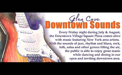 Glen Cove Friday Night Downtown Sounds 2017