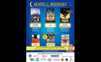 Movies by Moonlight 2017