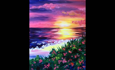 Paint Nite: Blooming Sunset