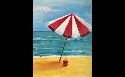 Paint Nite: Beach Umbrella