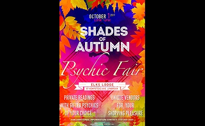 Shades Of Autumn - Psychic Fair