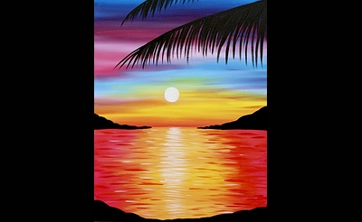 Paint Nite: Pretty Paradise