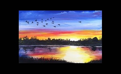 Paint Nite: End Of Summer