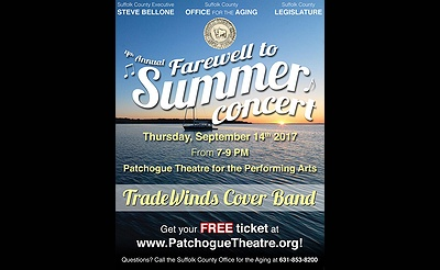 Steve Bellone Presents A Farewell to Summer Concert