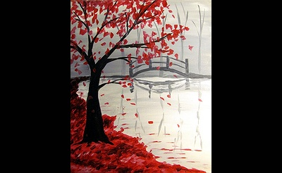 Paint Nite: Bridge In The Fall