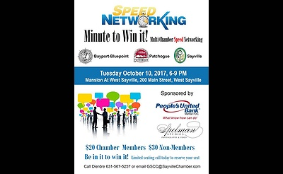 Speed Networking Minute to Win It