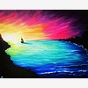 Paint Nite: Rainbow Sunse