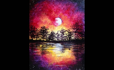 Paint Nite: Midsummer Moonrise