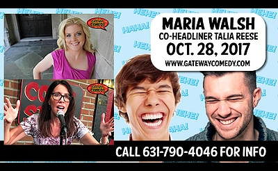 Stand-Up Comedy with Maria Walsh