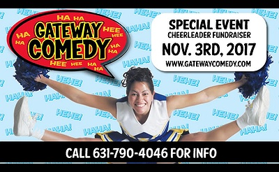 Gateway Comedy's Cheerleader Fundraiser