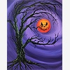 Paint Nite: Bad Moon Smil