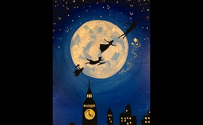 Paint Nite: Fly To Neverland