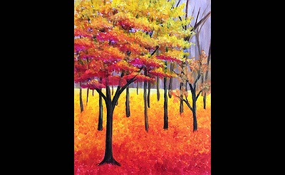 Paint Nite: Forever Fall Forest