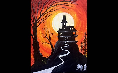 Paint Nite: The Haunted Mansion