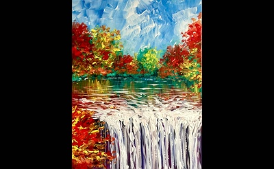 Paint Nite: Falling for Autumn II