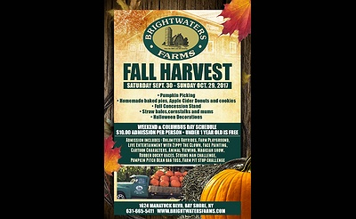 Brightwaters Farms Fall Harvest 2017