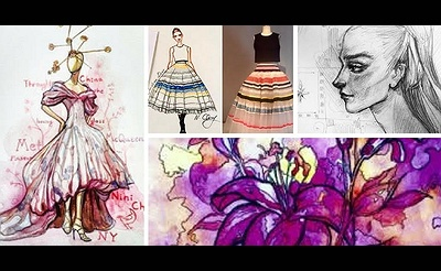 Fashion Illustration Course for 6th-12th graders!