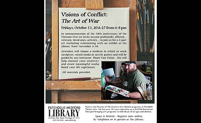 Visions of Conflict: The Art of War. Theraputic Art Program & Exhibit