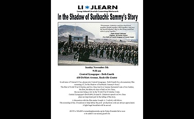 Veteran's Day Tribute: In the Shadow of Suribachi: Sammy's Story