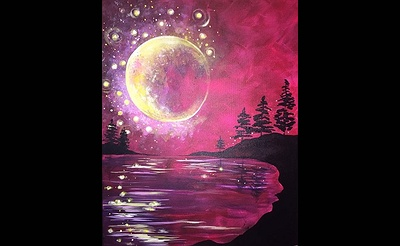 Paint Nite: Fall Harvest Moon
