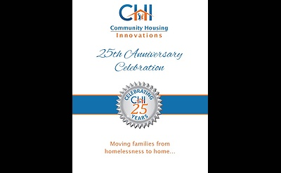 Community Housing Innovations' (CHI) 25th Anniversary Benefit
