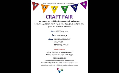 Star Triangle 1st Annual Craft Fair