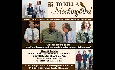 To Kill A Mockingbird (Stage Play)