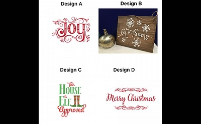 Paint The Town: Holiday Wood Sign Class