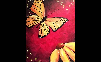 Paint Nite: Monarch Magic